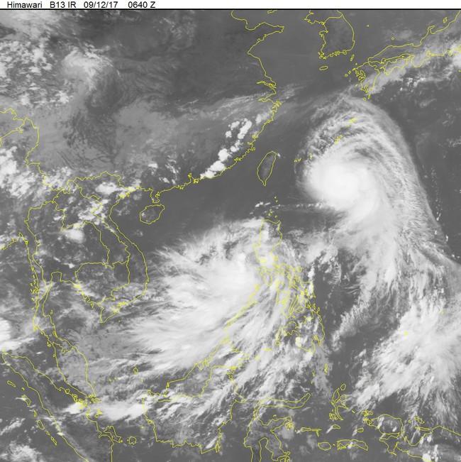 Áp thấp nhiệt đới vào Biển Đông có thể mạnh lên thành bão