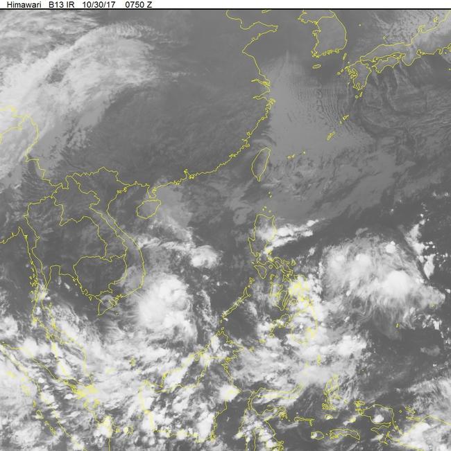 Vùng áp thấp trên Biển Đông sắp mạnh lên thành áp thấp nhiệt đới