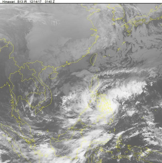 Áp thấp nhiệt đới đã mạnh lên thành bão KAI-TAK