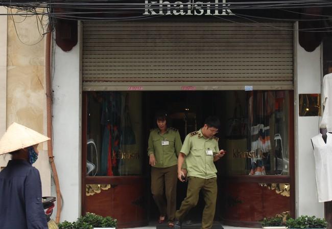 16 thành viên trong đoàn kiểm tra liên ngành thanh tra công ty của KhaiSilk gồm những ai?