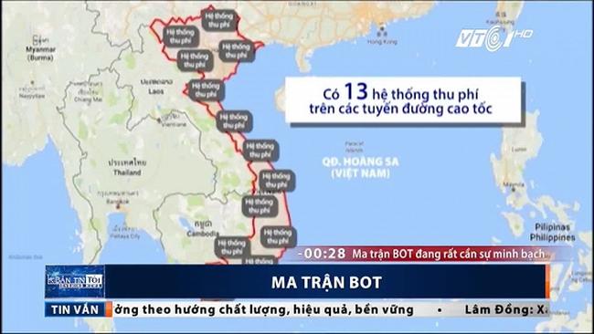 Giật mình với ma trận BOT ở Việt Nam