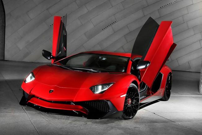 Lamborghini Aventador SV: Tuyệt tác siêu xe của giới thượng lưu