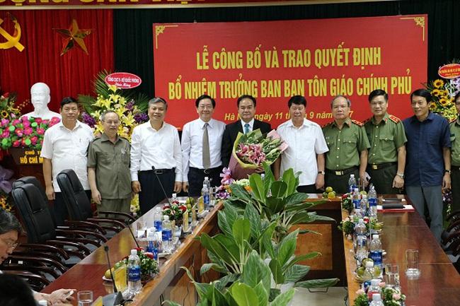 Bộ Nội vụ bổ nhiệm nhân sự mới