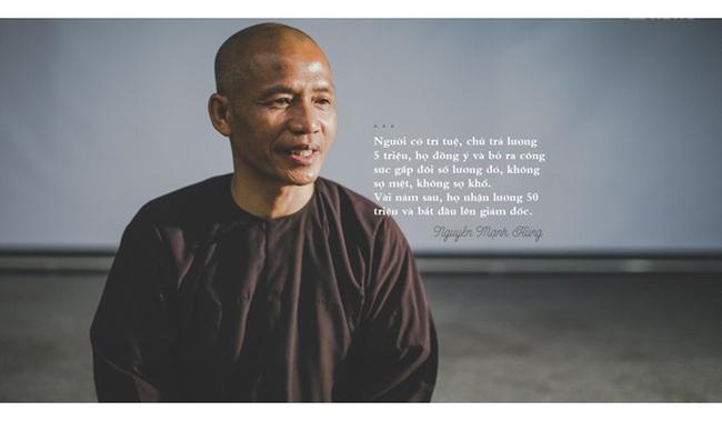 TS Nguyễn Mạnh Hùng: Cứ 10.000 giờ nghiên cứu có tâm là trở thành chuyên gia