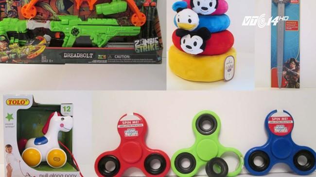 Top những món đồ chơi nguy hiểm nhất năm 2017