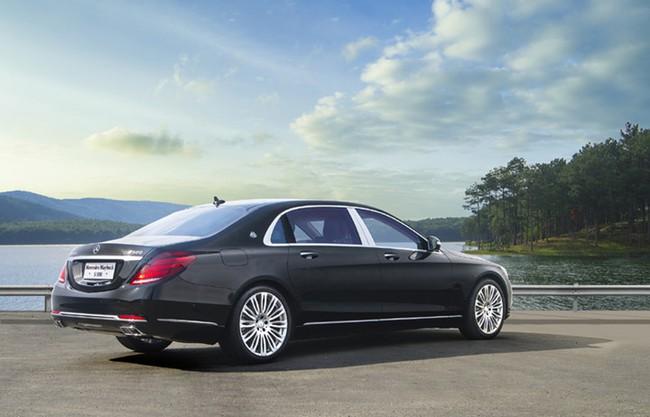 Cận cảnh Mercedes-Maybach S 500 giá gần 11 tỷ đồng tại Việt Nam