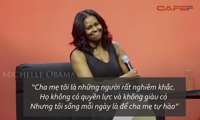 Không xuất thân giàu sang, yếu tố nào quyết định khí chất của cựu đệ nhất phu nhân Michelle Obama?