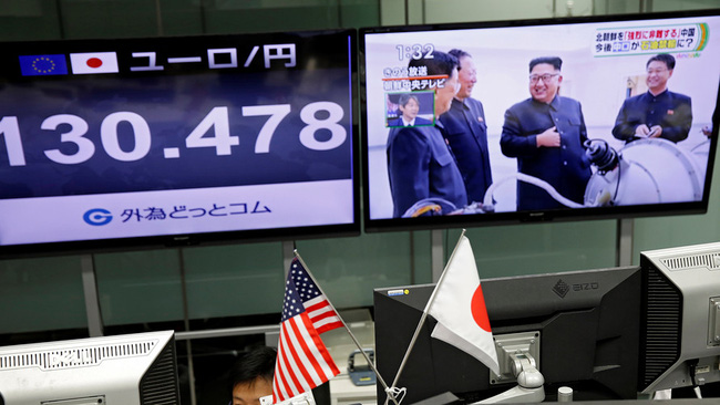 5 biểu đồ đáng sợ trên thị trường tài chính sau khi Triều Tiên thử hạt nhân