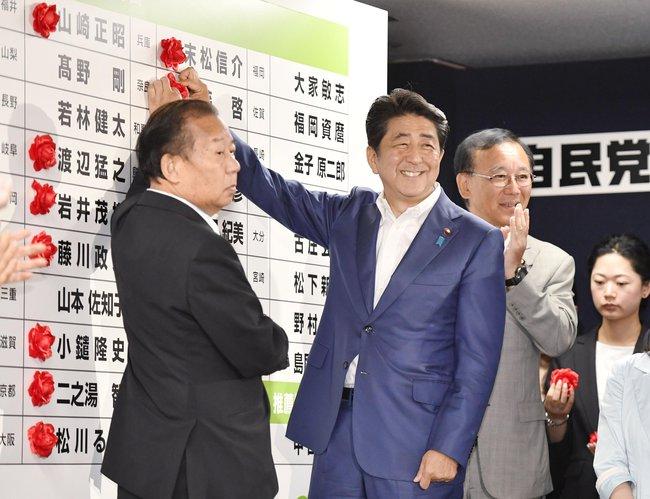 Thủ tướng Abe chiến thắng vang dội, chứng khoán Nhật xác lập kỷ lục của 2 thập kỷ