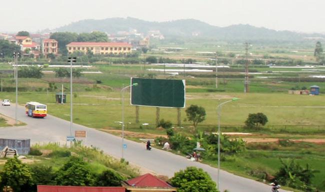 Mê Linh: Hơn 3.000m2 đất có giá khởi điểm 2,4 triệu đồng/m2 đang chờ nhà đầu tư