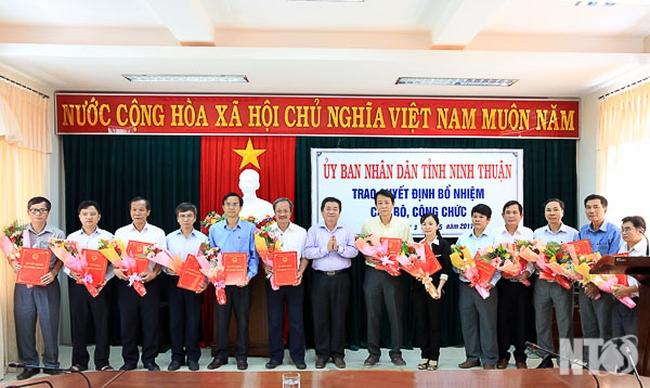 Điều động, bổ nhiệm nhân sự tỉnh Ninh Thuận