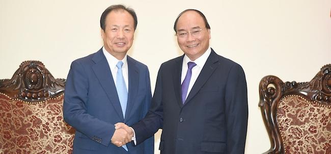 Samsung muốn đầu tư vào lĩnh vực viễn thông tại Việt Nam
