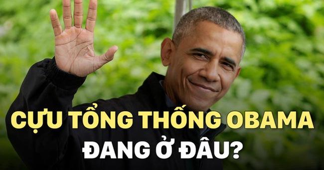 Cựu Tổng thống Obama đang ở đâu?