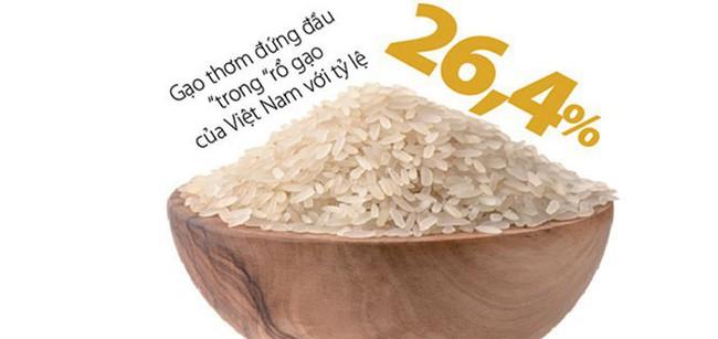 """Cuộc dịch chuyển """"chầm chậm"""" của gạo Việt"""