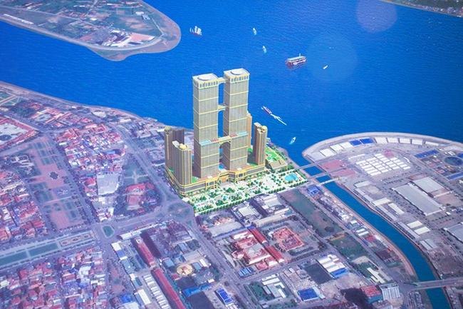Campuchia xây tháp đôi chọc trời cao 133 tầng