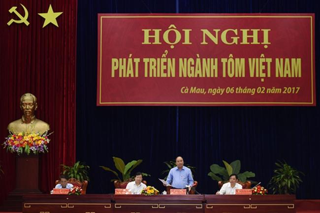 Thủ tướng: 10 tỷ USD xuất khẩu tôm vào năm 2030 là quá thấp