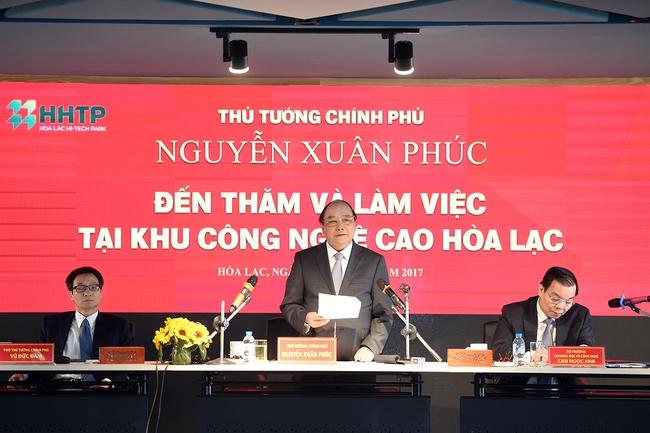 Thủ tướng: Năm 2017, phải hoàn thành GPMB cho 'hình mẫu nền kinh tế VN tương lai'