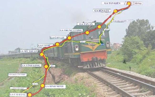 Cần 5 tỷ USD đầu tư xây dựng đường sắt nối TPHCM và Cần Thơ