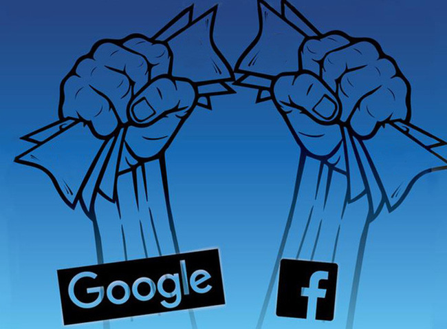 Google và Facebook: Thế lưỡng quyền trên mặt trận quảng cáo