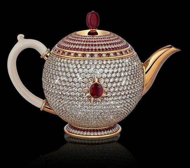 Bạn có sẵn sàng bỏ ra 3 triệu USD để sở hữu chiếc ấm pha trà đắt nhất thế giới này không?