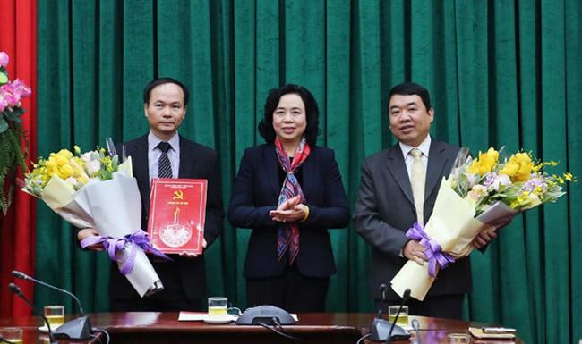 Bổ nhiệm nhân sự Thành ủy Hà Nội
