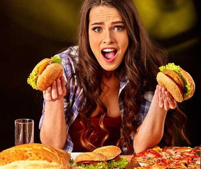 Image result for ăn đồ ăn nhanh