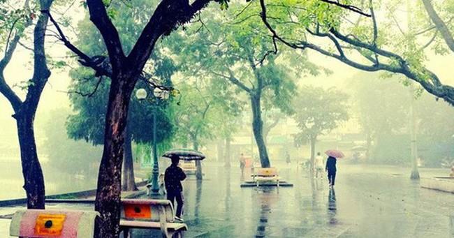 Không khí lạnh tăng cường, Hà Nội mưa rét 19 độ C
