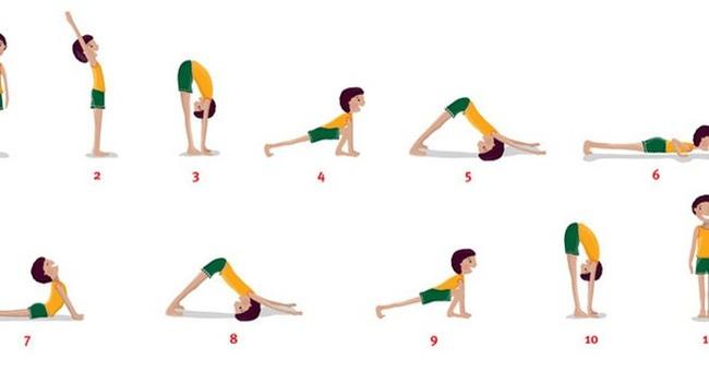 """Hướng dẫn tập bài """"Chào mặt trời"""": Động tác có tác dụng tuyệt vời hiếm có của Yoga"""