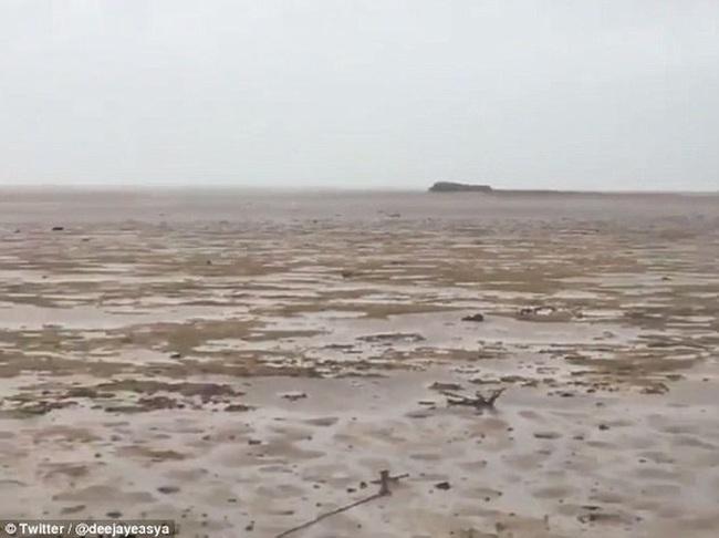 Bão Irma rút cạn nước biển, hiện tượng kỳ quái hiếm thấy