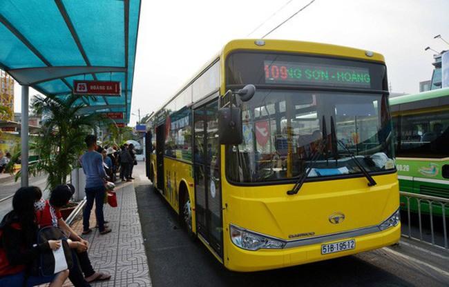 "Bắt đầu ""thay máu"" xe buýt ở TP HCM"