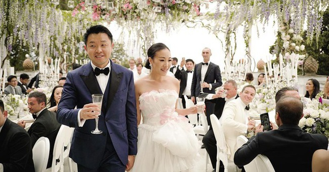 Ngoài váy cưới lộng lẫy, đám cưới của fashion blogger Hong Kong còn xa hoa không tưởng