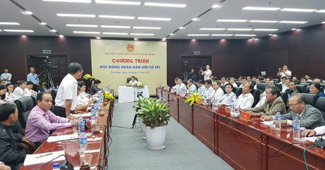 """Ông Nguyễn Xuân Anh không dự họp """"HĐND với cử tri"""" Đà Nẵng"""