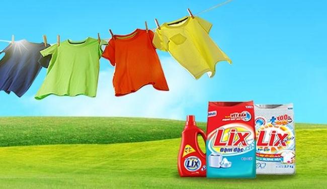 Bột giặt Lix: Năm 2016 lãi gần 200 tỷ đồng, vượt 24% chỉ tiêu lợi nhuận cả năm