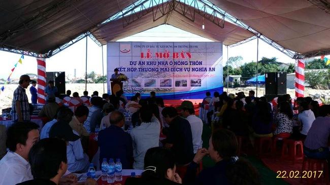 Công ty thuộc Tecgroup chính thức mở bán giai đoạn 1 Dự án Nghĩa An - Quảng Ngãi