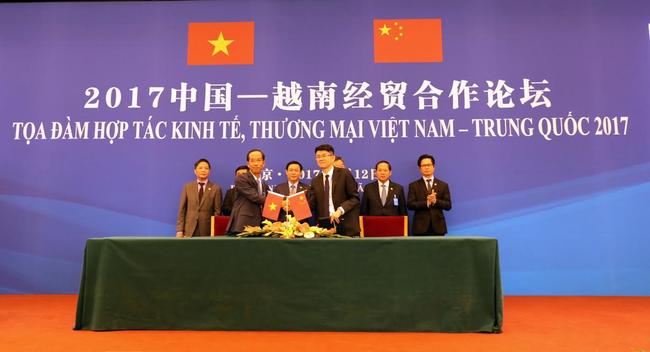 Vinamilk đã ký kết bản ghi nhớ hợp tác cung cấp sữa vào thị trường Trung Quốc
