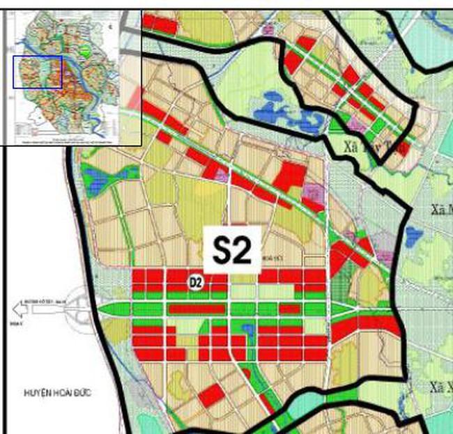 Hà Nội: Điều chỉnh quy hoạch phân khu đô thị S2 ở huyện Hoài Đức