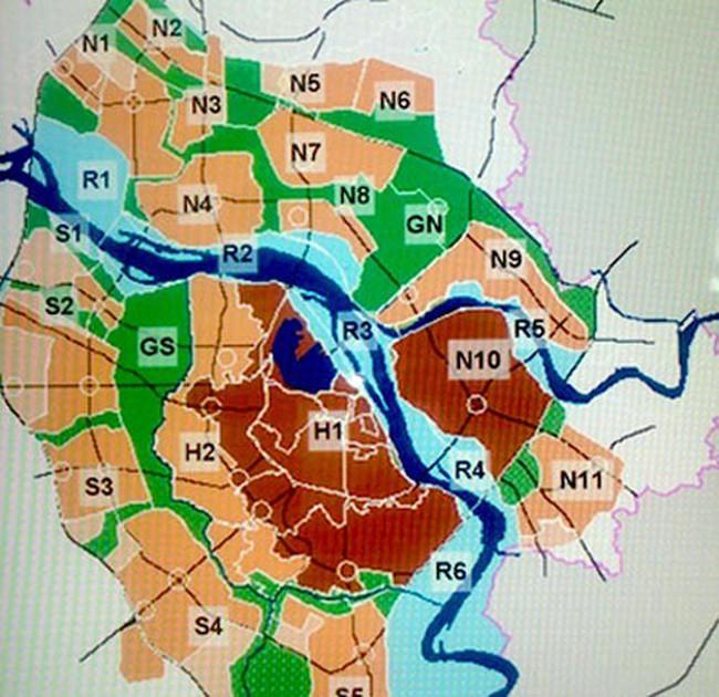 Hà Nội duyệt điều chỉnh quy hoạch phân khu đô thị N10 quận Long Biên