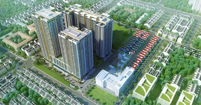 Hà Nội chấp thuận chuyển chức năng 2 tòa căn hộ khách sạn dự án Imperia Sky Garden sang chung cư