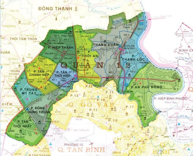 TP.HCM điều chỉnh tổng thể quy hoạch khu vực phía Đông quận 12