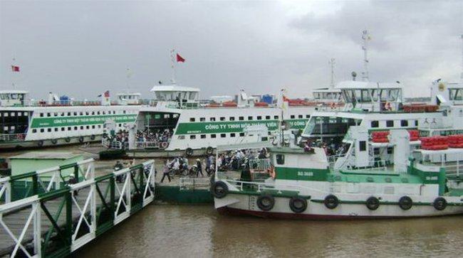 Nâng cấp, mở rộng dự án bến phà Bình Khánh (TP.HCM)