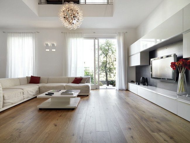 Lát gạch hay sàn gỗ - phương án nào tốt nhất cho căn hộ chung cư?