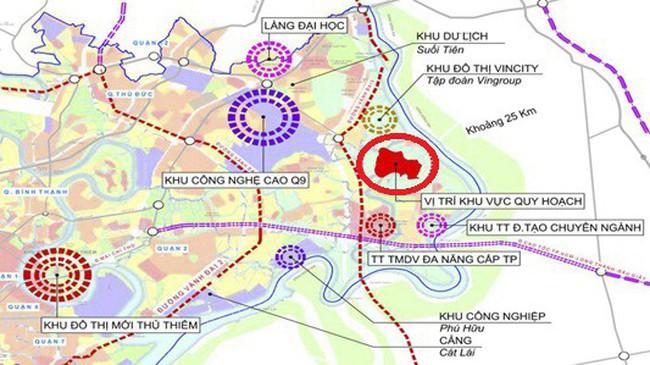 TP.HCM: Xây dựng công viên khoa học và công nghệ gần 4.300 tỷ đồng tại quận 9