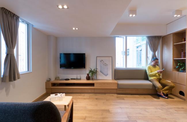 Thăm căn hộ 51m2 với thiết kế cực độc đáo ở Hồng Kông