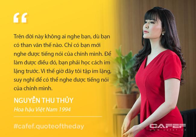 """Hoa hậu Thu Thủy: """"Càng tập yoga tôi càng hiểu thêm về quy luật cuộc sống và chấp nhận sự tồn tại của bản thân theo lẽ tự nhiên"""""""