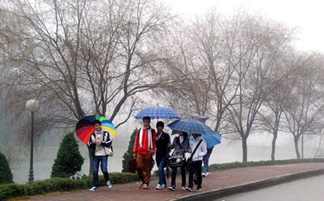 Không khí lạnh liên tục tăng cường, miền Trung mưa lớn trên diện rộng