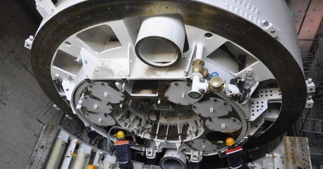 Robot nặng 300 tấn sắp xuyên lòng đất đào hầm metro ở TP.HCM có gì đặc biệt?