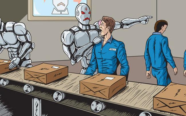 Bình Dương: 90% công nhân ở một nhà máy mất việc vì robot