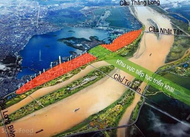 Hà Nội: Đôn đốc chuẩn bị chọn phương án thiết kế cầu Tứ Liên vượt sông Hồng