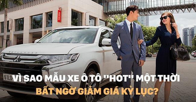 """Vì sao mẫu xe ô tô """"hot"""" một thời bất ngờ giảm giá kỷ lục?"""