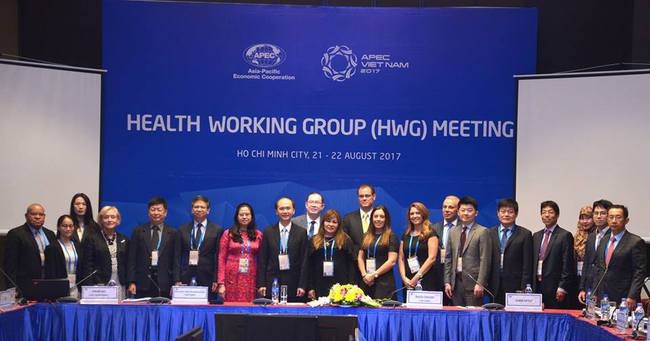 Sốt xuất huyết nằm trong chương trình nghị sự của Nhóm Công tác về Y tế APEC 2017